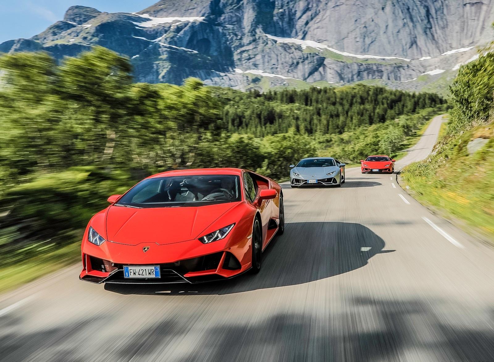 2019 Lamborghini Huracán EVO Front Wallpapers (1)