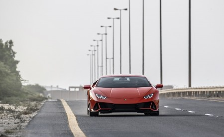 2019 Lamborghini Huracán EVO Front Wallpapers 450x275 (42)
