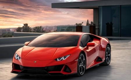 2019 Lamborghini Huracán EVO Front Wallpapers 450x275 (155)