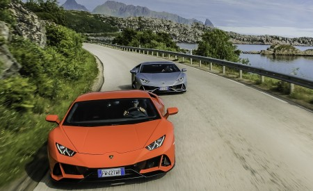 2019 Lamborghini Huracán EVO Front Wallpapers 450x275 (71)
