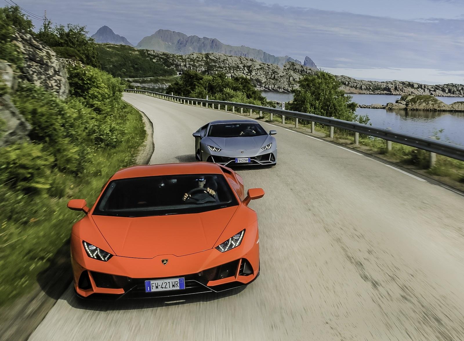 2019 Lamborghini Huracán EVO Front Wallpapers (4)