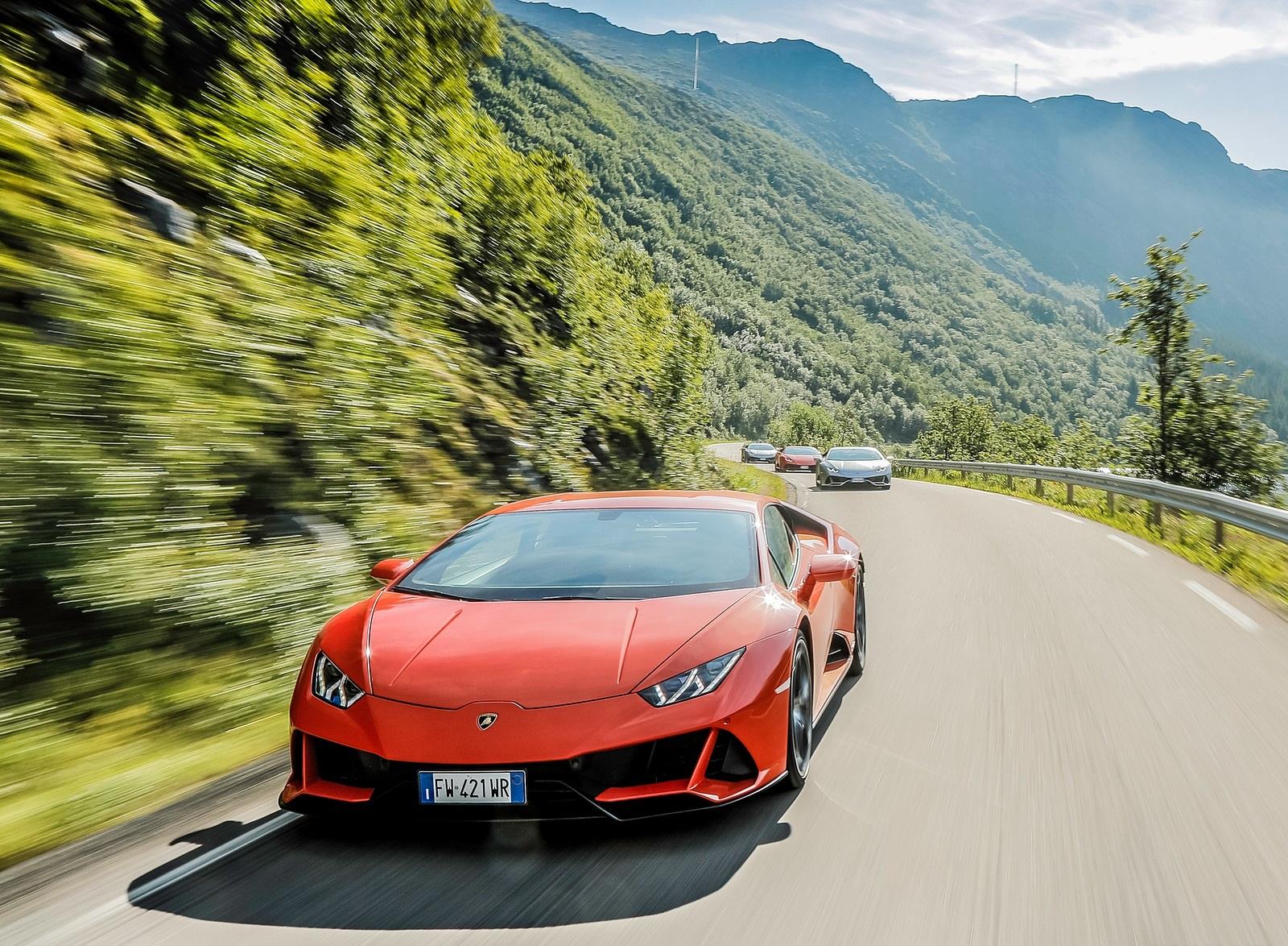 2019 Lamborghini Huracán EVO Front Wallpapers (5)