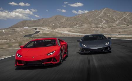 2019 Lamborghini Huracán EVO Front Wallpapers 450x275 (12)