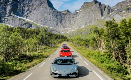 2019 Lamborghini Huracán EVO Front Wallpapers 450x275 (7)