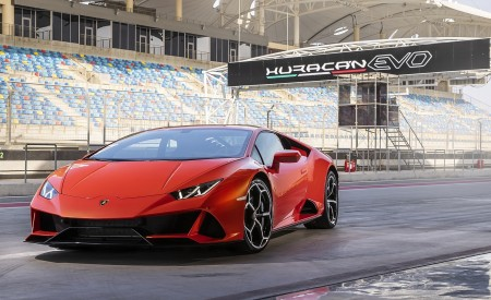 2019 Lamborghini Huracán EVO Front Wallpapers 450x275 (65)