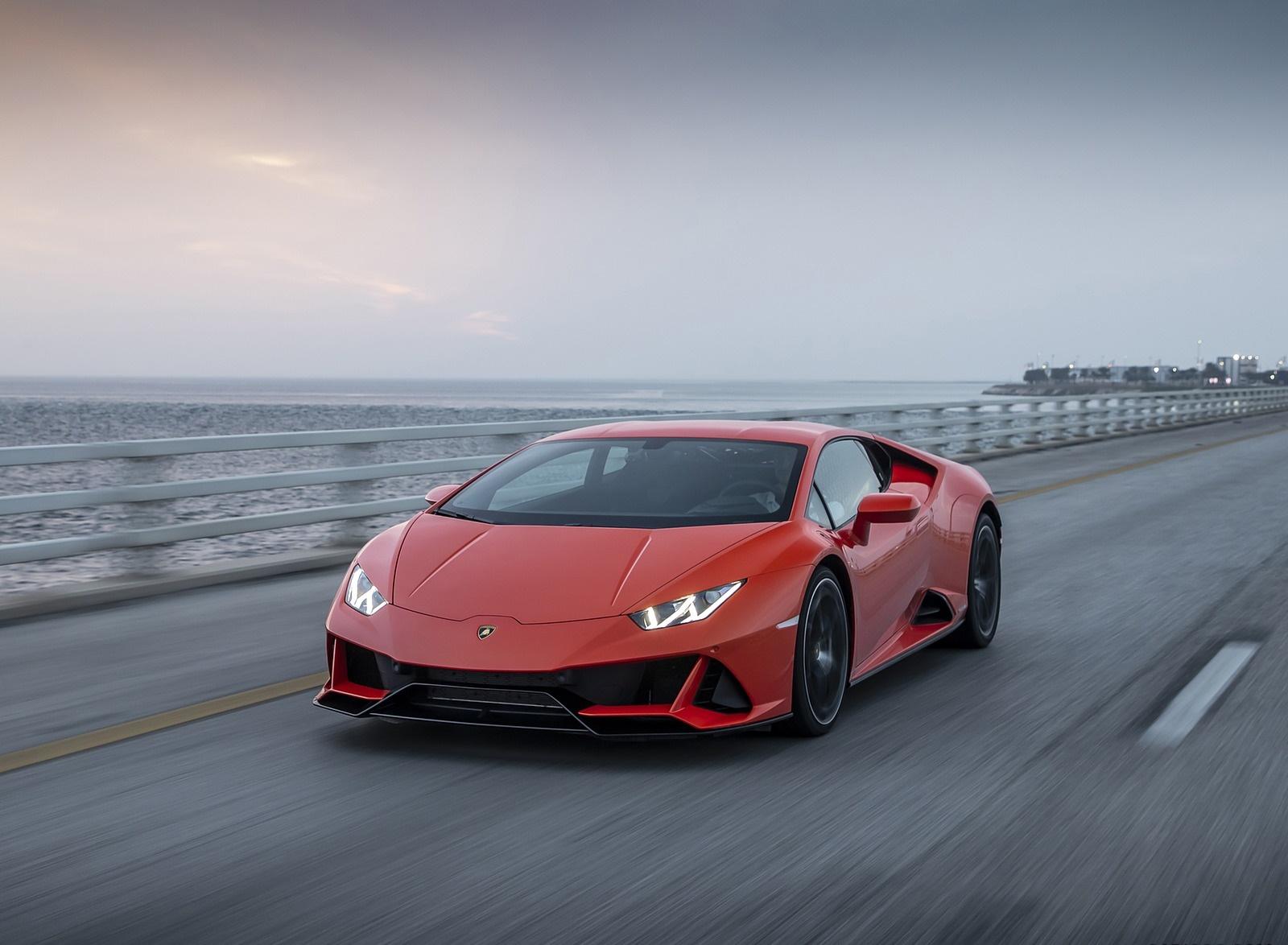 2019 Lamborghini Huracán EVO Front Wallpapers (11)