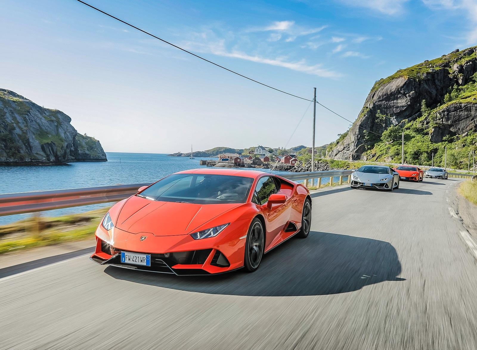2019 Lamborghini Huracán EVO Front Wallpapers (10)