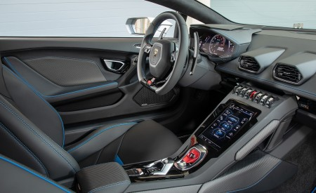 2019 Lamborghini Huracán EVO Interior Cockpit Wallpapers 450x275 (73)