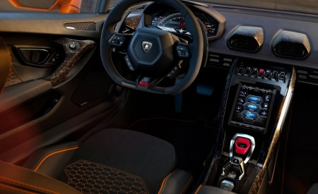 2019 Lamborghini Huracán EVO Interior Detail Wallpapers 450x275 (109)
