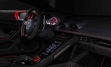 2019 Lamborghini Huracán EVO Interior Detail Wallpapers 450x275 (108)