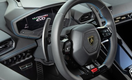 2019 Lamborghini Huracán EVO Interior Steering Wheel Wallpapers 450x275 (72)
