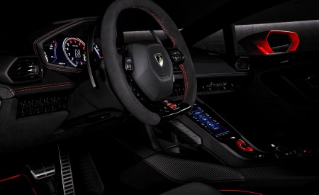 2019 Lamborghini Huracán EVO Interior Wallpapers 450x275 (110)