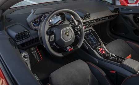 2019 Lamborghini Huracán EVO Interior Wallpapers 450x275 (74)