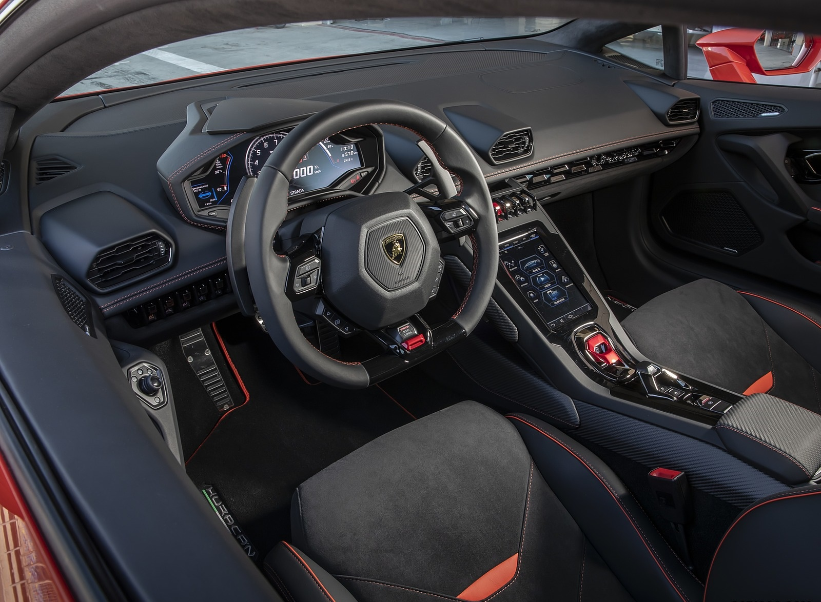 2019 Lamborghini Huracan Evo Interior Wallpapers 42 Newcarcars