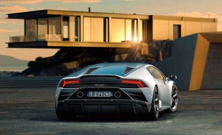 2019 Lamborghini Huracán EVO Rear Three-Quarter Wallpapers 450x275 (96)