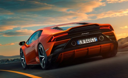 2019 Lamborghini Huracán EVO Rear Three-Quarter Wallpapers 450x275 (95)