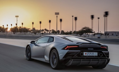 2019 Lamborghini Huracán EVO Rear Three-Quarter Wallpapers 450x275 (56)