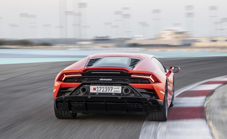 2019 Lamborghini Huracán EVO Rear Wallpapers 450x275 (46)