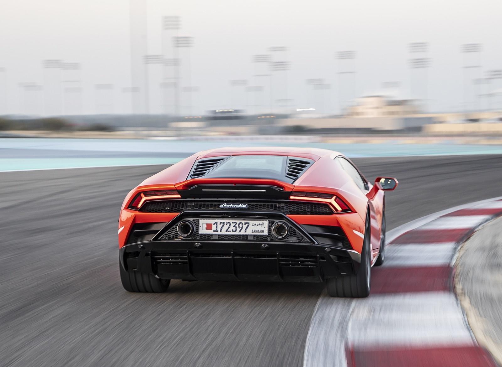 2019 Lamborghini Huracán EVO Rear Wallpapers (14)