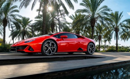 2019 Lamborghini Huracán EVO Side Wallpapers 450x275 (85)