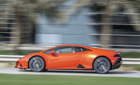 2019 Lamborghini Huracán EVO Side Wallpapers 450x275 (39)