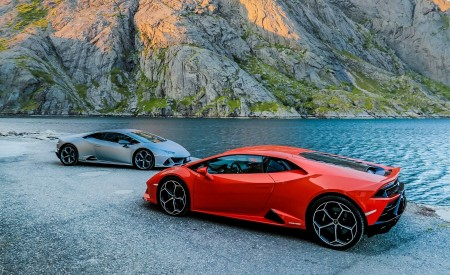 2019 Lamborghini Huracán EVO Side Wallpapers 450x275 (15)