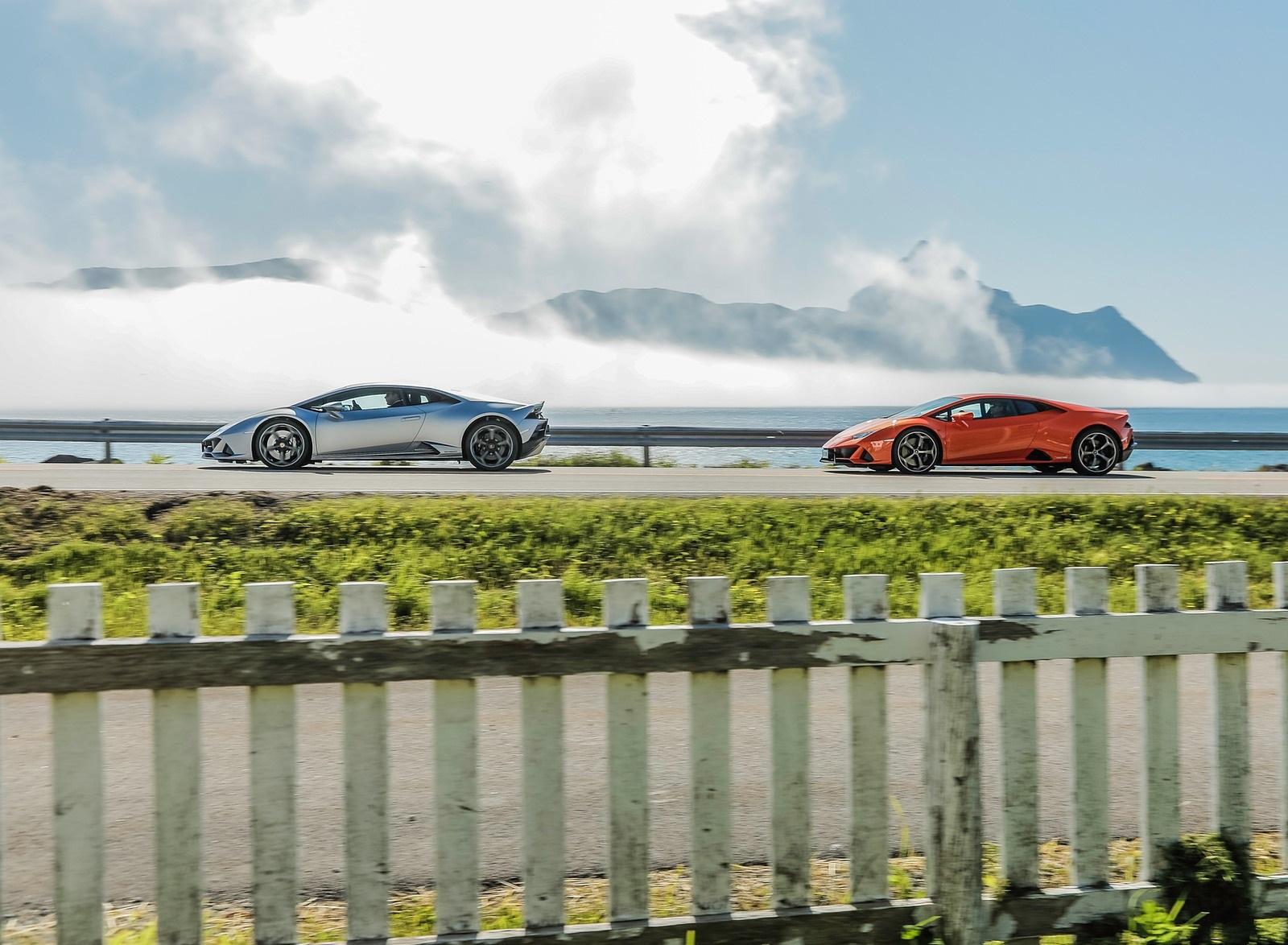 2019 Lamborghini Huracán EVO Side Wallpapers (12)