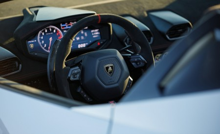 2019 Lamborghini Huracán Performante Spyder Detail Wallpapers 450x275 (50)