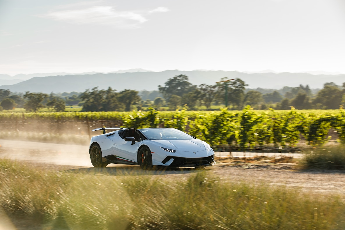 2019 Lamborghini Huracán Performante Spyder Front Three-Quarter Wallpapers (3)