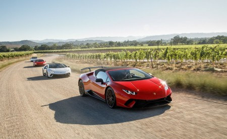 2019 Lamborghini Huracán Performante Spyder Front Three-Quarter Wallpapers 450x275 (2)