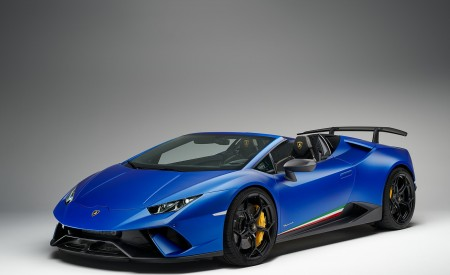 2019 Lamborghini Huracán Performante Spyder Front Three-Quarter Wallpapers 450x275 (67)