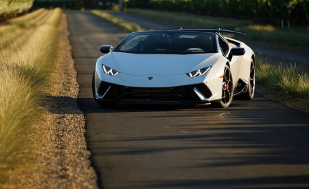 2019 Lamborghini Huracán Performante Spyder Front Wallpapers 450x275 (44)