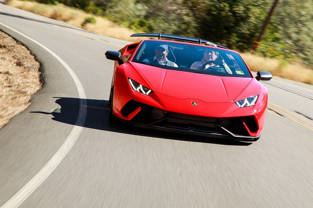 2019 Lamborghini Huracán Performante Spyder Front Wallpapers (6)
