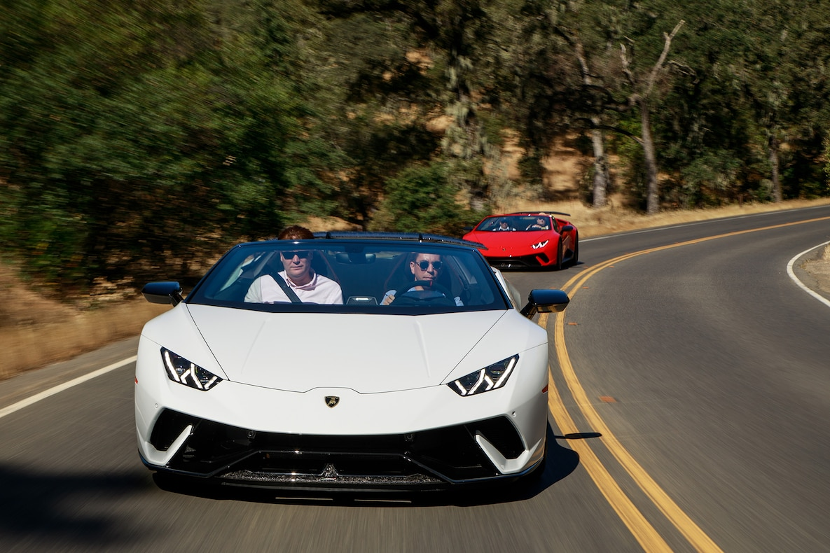 2019 Lamborghini Huracán Performante Spyder Front Wallpapers (8)