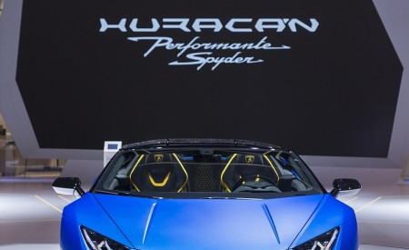 2019 Lamborghini Huracán Performante Spyder Front Wallpapers 450x275 (81)