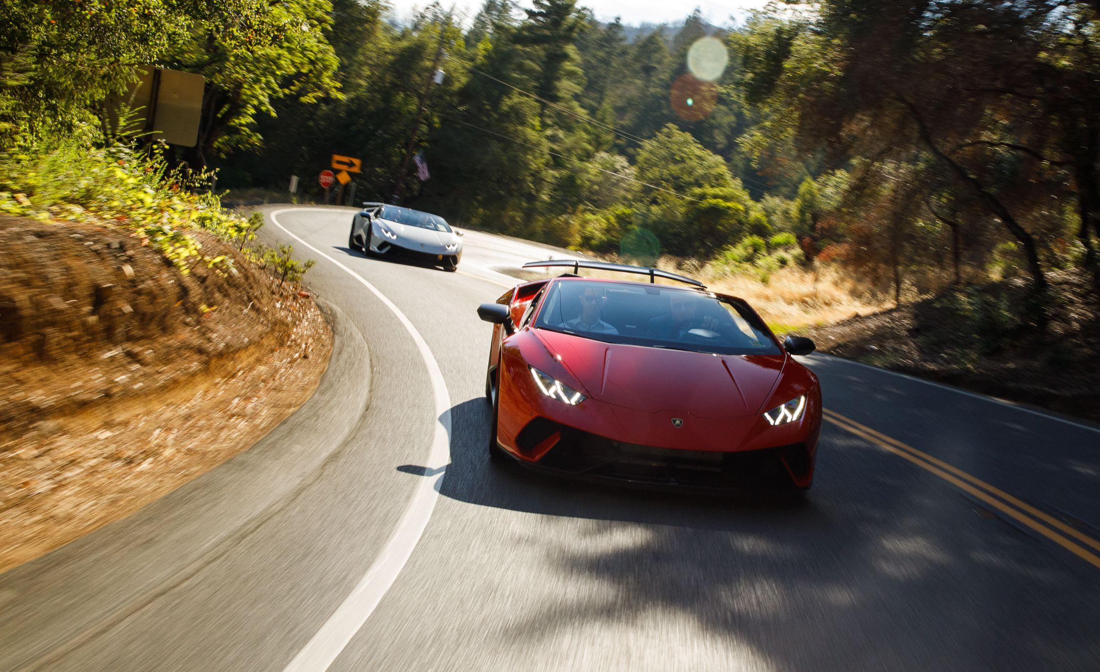 2019 Lamborghini Huracan Performante Spyder Wallpapers 96 Hd