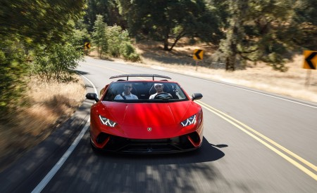 2019 Lamborghini Huracán Performante Spyder Front Wallpapers 450x275 (23)