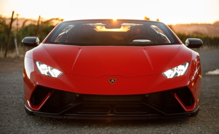 2019 Lamborghini Huracán Performante Spyder Front Wallpapers 450x275 (34)