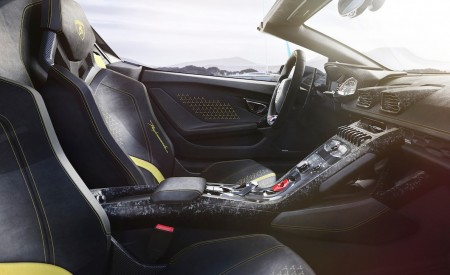 2019 Lamborghini Huracán Performante Spyder Interior Cockpit Wallpapers 450x275 (55)
