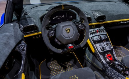 2019 Lamborghini Huracán Performante Spyder Interior Seats Wallpapers 450x275 (95)