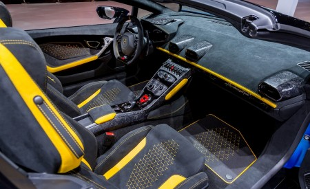 2019 Lamborghini Huracán Performante Spyder Interior Seats Wallpapers 450x275 (52)
