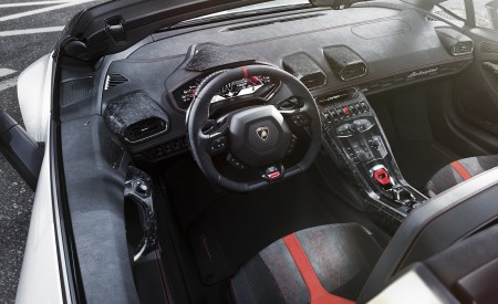 2019 Lamborghini Huracán Performante Spyder Interior Wallpapers 450x275 (65)