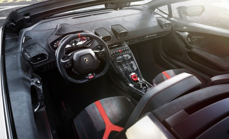 2019 Lamborghini Huracán Performante Spyder Interior Wallpapers 450x275 (56)