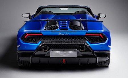 2019 Lamborghini Huracán Performante Spyder Rear Wallpapers 450x275 (78)
