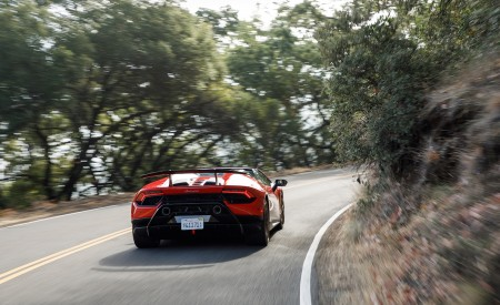 2019 Lamborghini Huracán Performante Spyder Rear Wallpapers 450x275 (26)