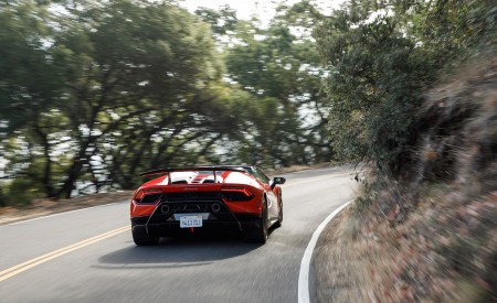 2019 Lamborghini Huracán Performante Spyder Rear Wallpapers 450x275 (11)