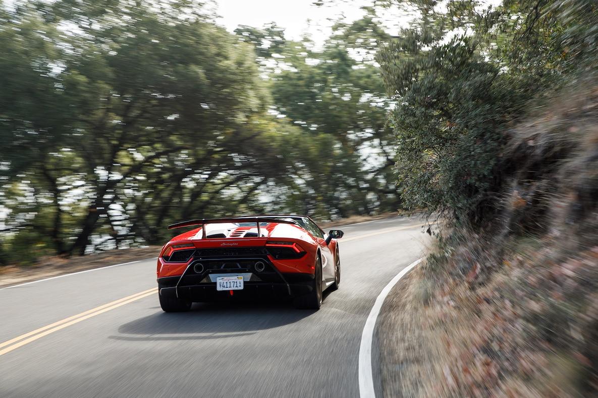 2019 Lamborghini Huracán Performante Spyder Rear Wallpapers (11)