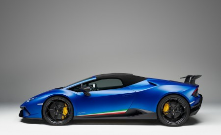 2019 Lamborghini Huracán Performante Spyder Side Wallpapers 450x275 (77)
