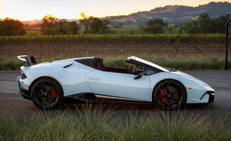 2019 Lamborghini Huracán Performante Spyder Side Wallpapers 450x275 (30)