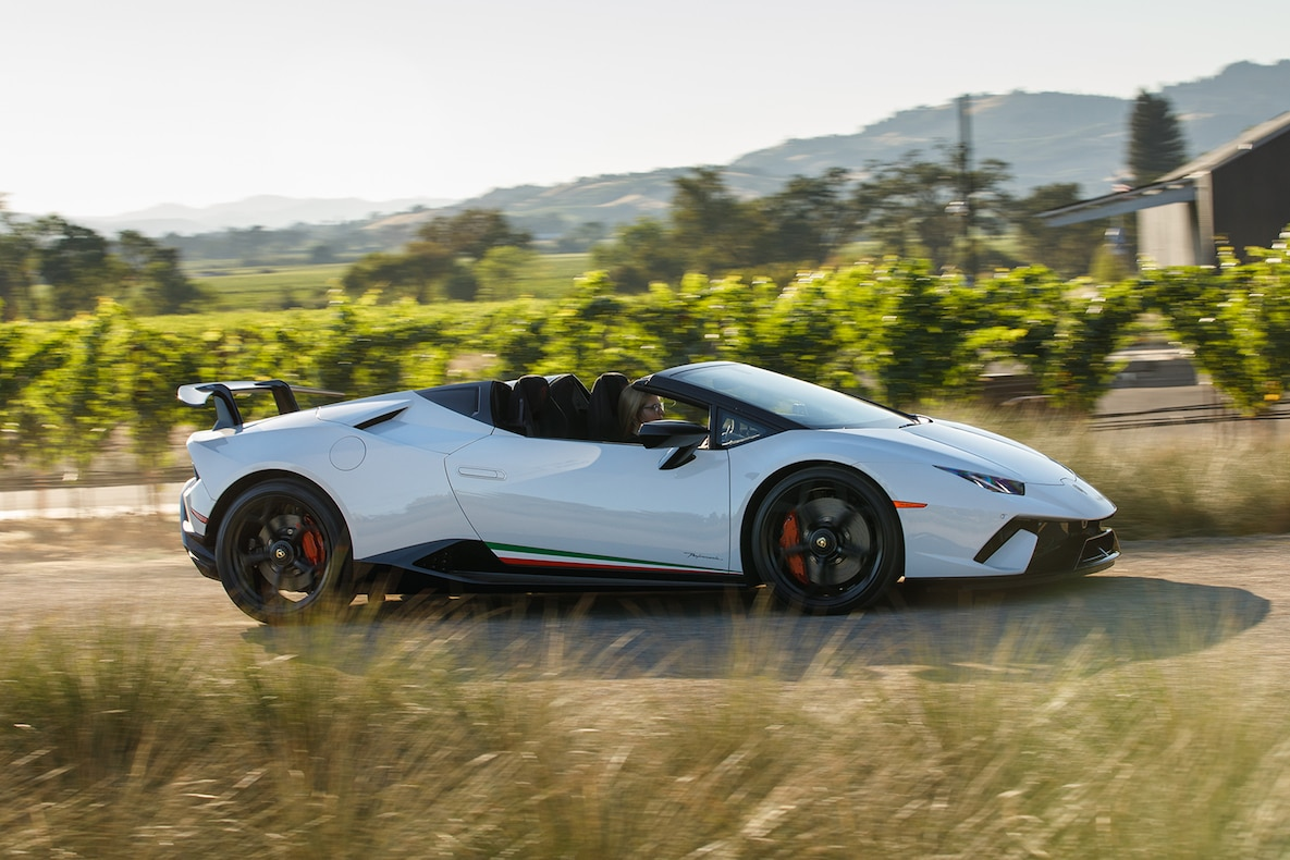2019 Lamborghini Huracán Performante Spyder Side Wallpapers (13)